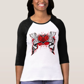 Heart With Wings Tees