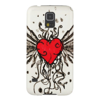 Heart with Wingz Galaxy S5 Cases