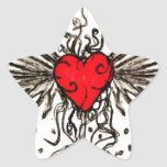 Heart with Wingz Sticker
