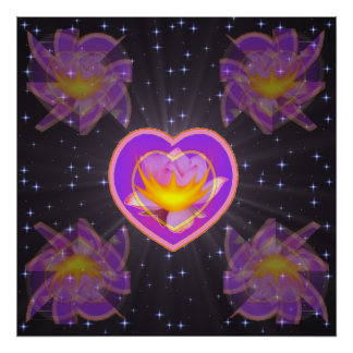 Heart Within a Heart Posters