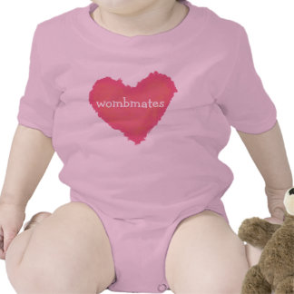 Heart Wombmates and T-shirts