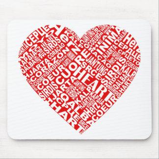 Heart_Words_2.png Alfombrilla De Ratón