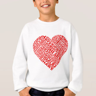 Heart_Words.png Sweatshirt