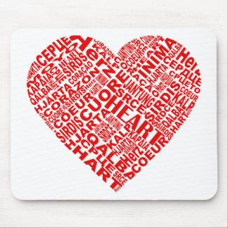 Heart_Words.png Tapetes De Ratones