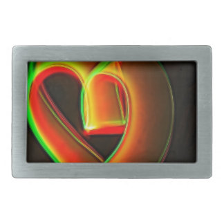Heart - WOWCOCO Rectangular Belt Buckle