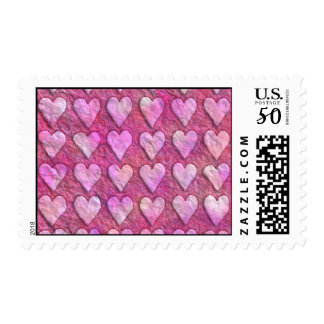 Heart Wrapping Paper Postage