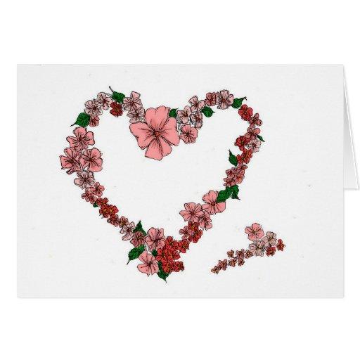 Heart Wreath Card