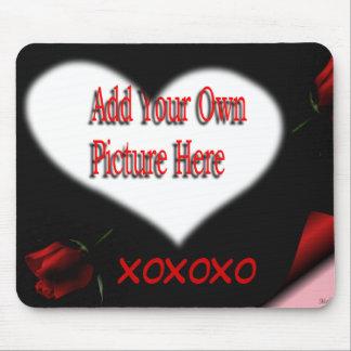 Heart & X0X0X0 Mousepad-customize