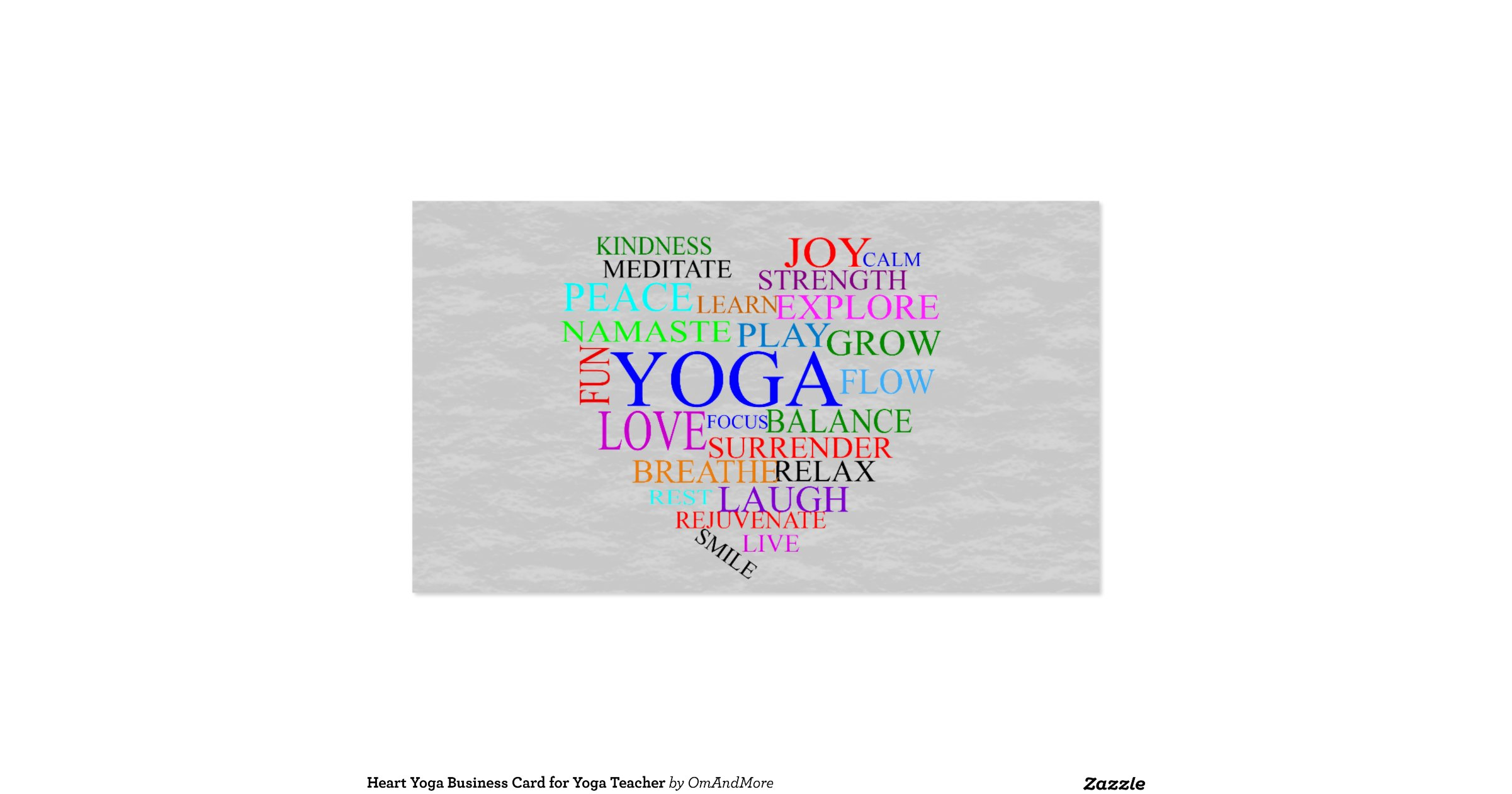 new pics of yoga business cards business cards