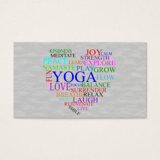 Yoga Business Cards & Templates | Zazzle