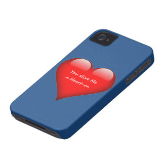 Heart You Give Me a Heart-on Case-Mate iPhone 4 Case