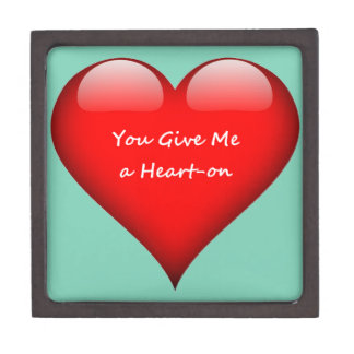 Heart You Give Me a Heart-on Gift Box