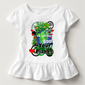 Heart Your Planet It is a Gift From God Toddler T-shirt