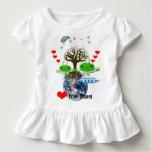 Heart Your Planet! Ultra Cute Aliens Tee Shirt