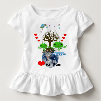Heart Your Planet! Ultra Cute Aliens Toddler T-shirt