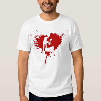Heart Zombie PINUPS T-Shirt