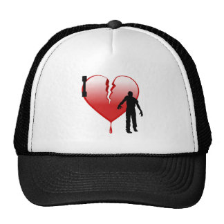 Heart Zombies Hats