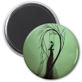 Heartache and Poetry 14... 2 Inch Round Magnet
