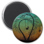 Heartache and Poetry 20... 2 Inch Round Magnet