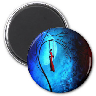 Heartache and Poetry 36... 2 Inch Round Magnet