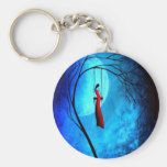 Heartache and Poetry 36... Basic Round Button Keychain