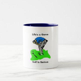 Heartache Two-Tone Coffee Mug