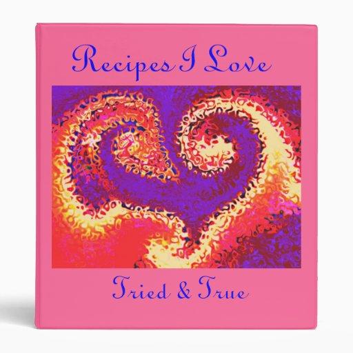 HeartAfire3, cuaderno de las recetas