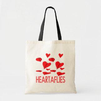 Heartaflies Budget Tote Bag