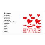 Heartaflies Tarjetas De Negocios