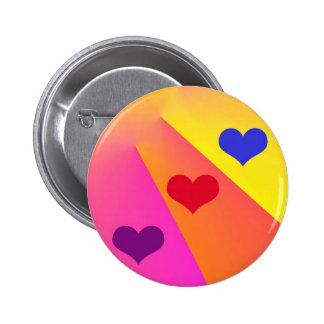Heartbeams Button