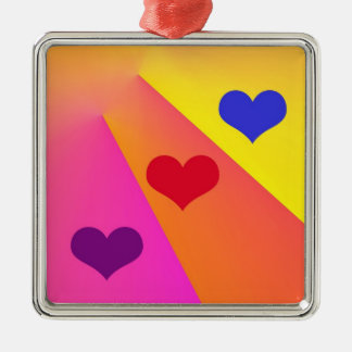 Heartbeams Premium Ornament