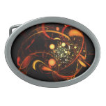 Heartbeat Abstract Art Belt Buckle