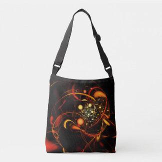 Heartbeat Abstract Art Cross Body Crossbody Bag