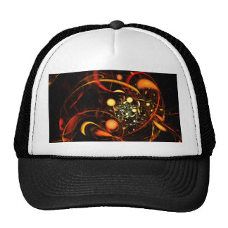 Heartbeat Abstract Art Hat