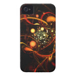 Heartbeat Abstract Art iPhone 4 / 4S Case-Mate iPhone 4 Case