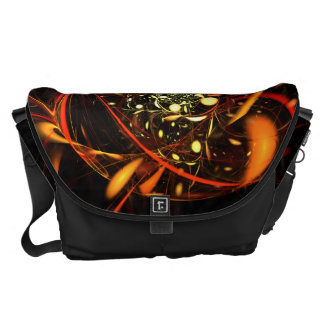 Heartbeat Abstract Art Large Bag