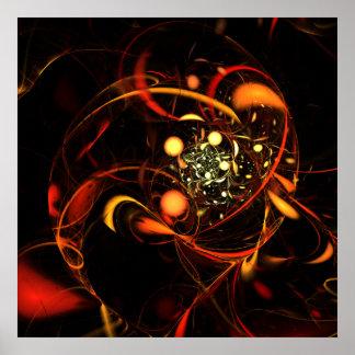 Heartbeat Abstract Art Print