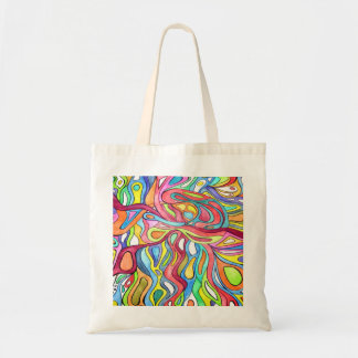 Heartbeat Abstract Tote