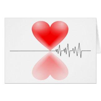 Heartbeat Card