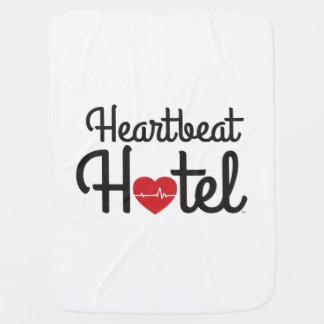 """""""Heartbeat Hotel"""" Stroller-Carseat Blanket"""