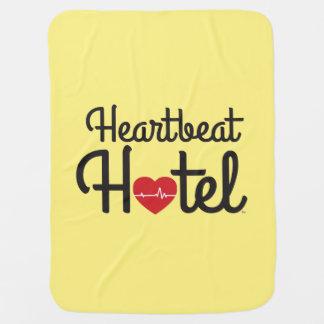 """""""Heartbeat Hotel"""" Stroller / Carseat Blanket"""
