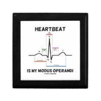 Heartbeat Is My Modus Operandi (Electrocardiogram) Gift Boxes