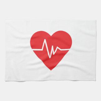 HEARTBEAT KITCHEN TOWEL