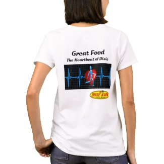 Heartbeat Ladies T-Shirt