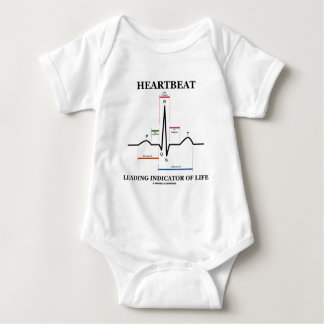 Heartbeat Leading Indicator Of Life Tee Shirt