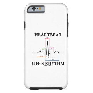Heartbeat Life's Rhythm (Sinus Rhythm ECG/EKG) iPhone 6 Case