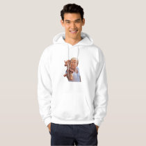 Heartbeat Pink Ribbon Breast Cancer Suppor Hoodie