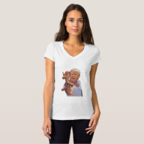 Heartbeat Pink Ribbon Breast Cancer Suppor T-Shirt