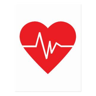 HEARTBEAT POSTCARD