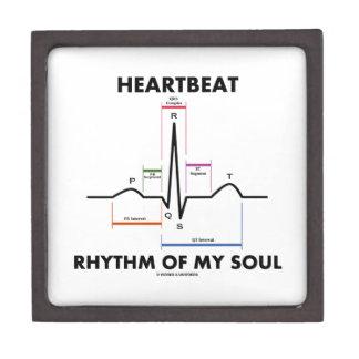 Heartbeat Rhythm Of My Soul (Electrocardiogram) Jewelry Box